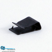 XW-RIC-B-08 - 0.8 gram black Extra Wide Backward Incline clips