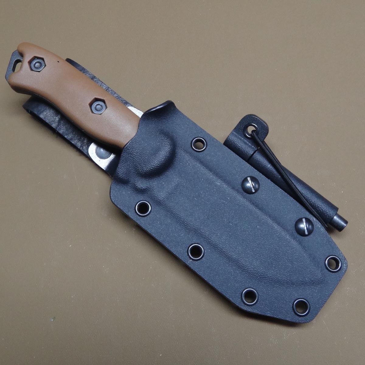 Kydex Knife Sheath: Becker BK16 Grizzly Elite Custom Kydex Sheath