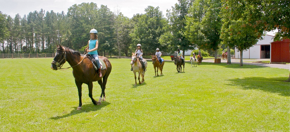 Horseback Riders at Pine Ridge Equestrian Center in North AL