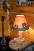 Cedar Desk Lamp