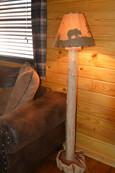Cedar Floor Lamp