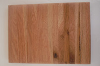 Small Red Oak Cutting Board