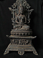 Cast Iron Buddha, Three Parts, North Laos, Cica 1900