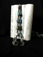 Roman Glass Beads on String, Afghanistan 2000 Years Old # 2
