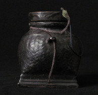 Burmese Laquerware Ink Well