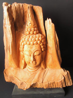 Wood carving (Teak)-SOLD