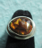 Mexican Fire Agate #7 (Size 7)