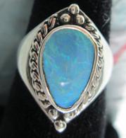 Lightning Ridge Opal Doublet #1 (Size 9)
