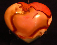 Polychrome Jasper Heart shape  #2-SOLD