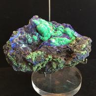Azurite and Malachite 396 grams