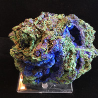SOLD-Azurite with Malachite 960 grams Shilu Mine, Guangdong Province, China
