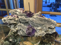 Another outstanding piece of our new Fluorite from Quanzhou Prefecture China.