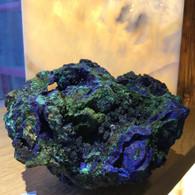 Azurite Malachite Specimen 650 grams