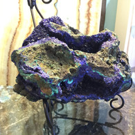 SOLD-Azurite on Malachite Specimen 600 grams
