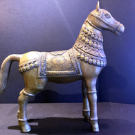 Antique Bronze Tibetan Horse