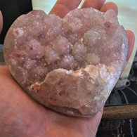 Quartz Heart var. Red Amethyst from Catalan Agate-Amethyst District, Southern Paraná Basalt Basin, Artigas, Uruguay