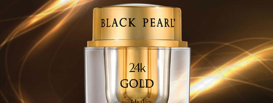 Black Pearl 24K Gold Face Care Products