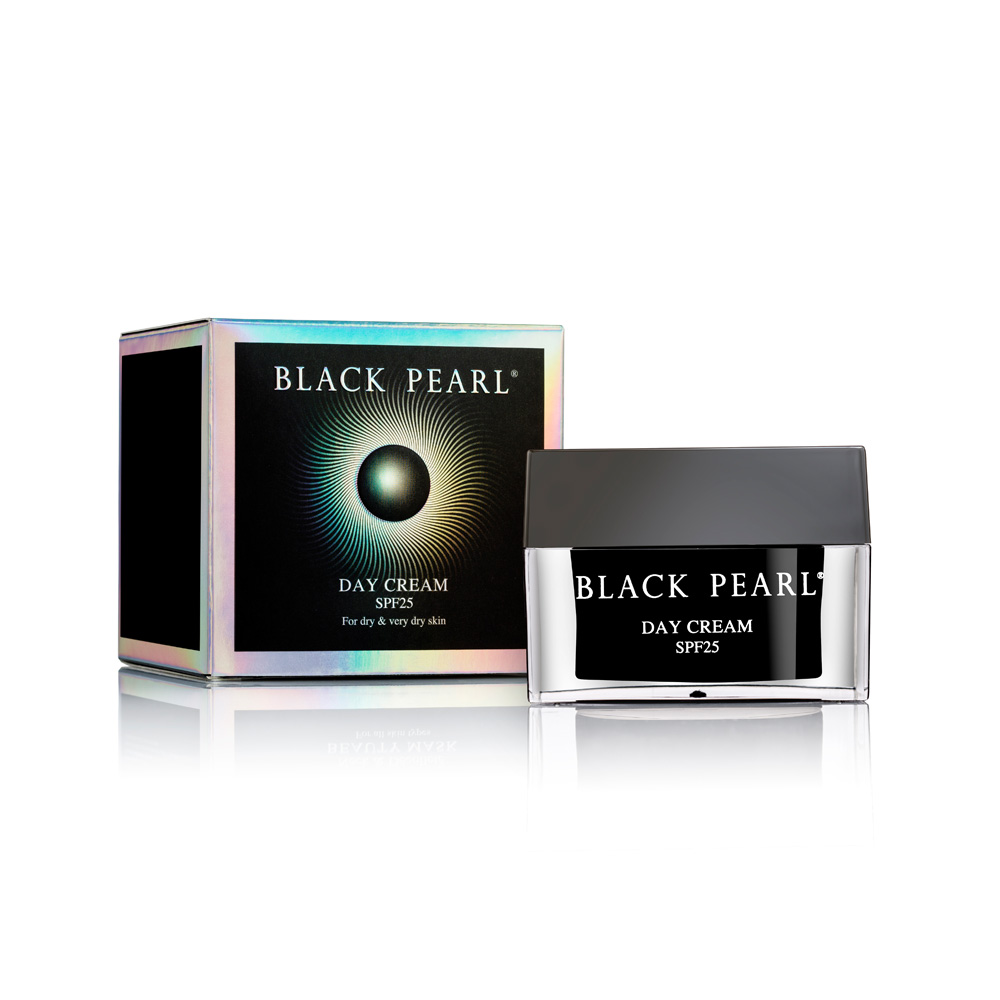 Dead-Sea Black Pearl Day Cream SPF 25 for dry-very dry skin