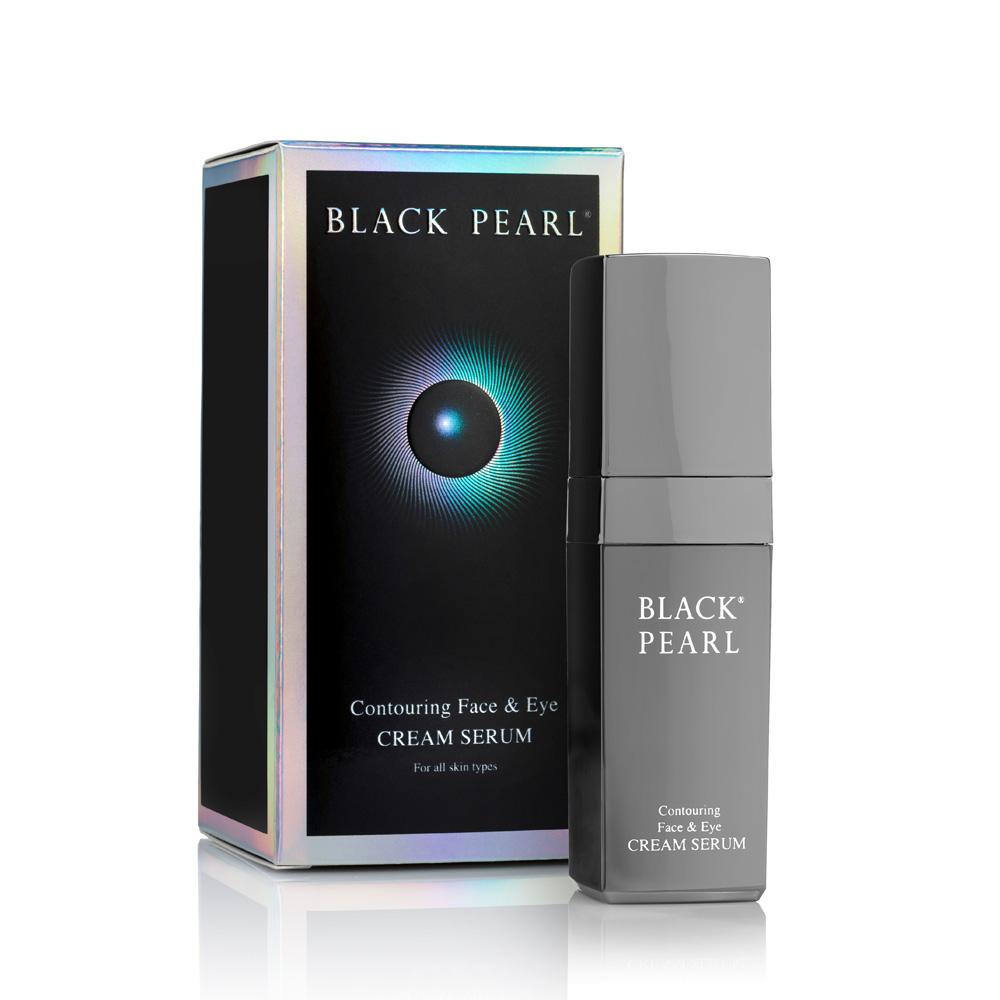 Dead-Sea Black Pearl Contouring Face & Eye Cream Serum by SEA of SPA