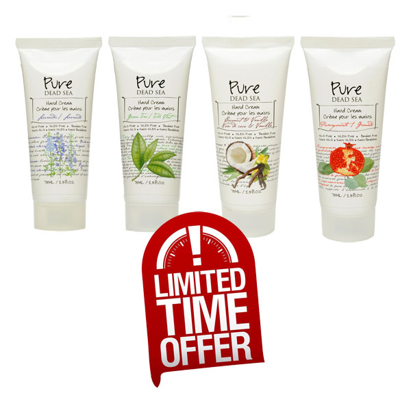 Dead Sea Hand Cream Special Sale