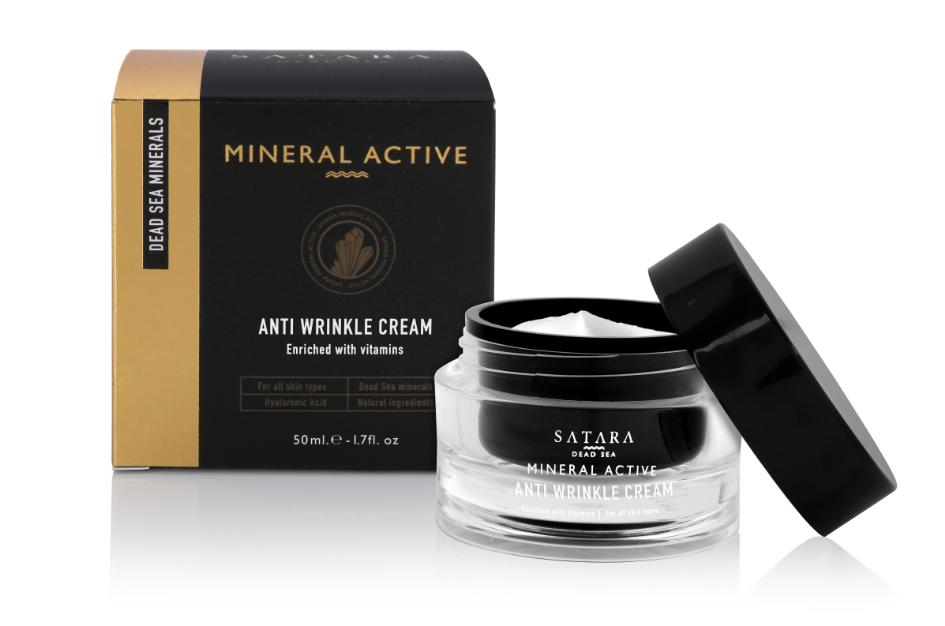 Satara Dead-Sea Mineral Active Anti Wrinkle Cream