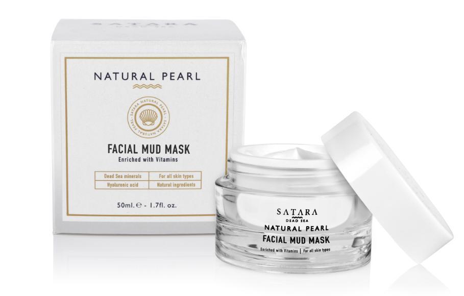 Satara Dead-Sea Natural Pearl Facial Mud Mask