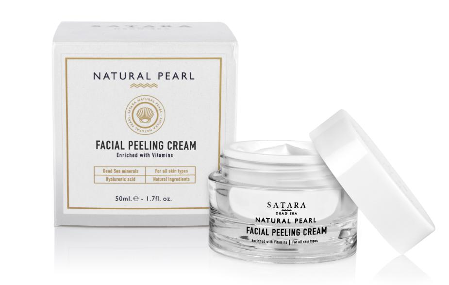 Dead-Sea Satara Natural Pearl Facial Peeling Cream