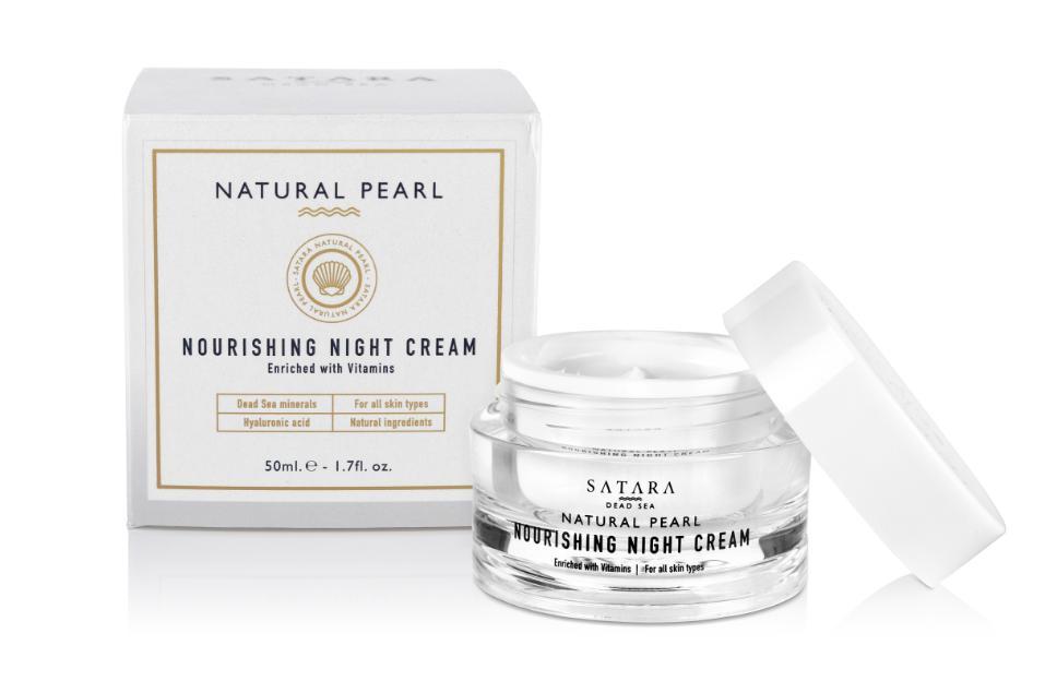Satara Dead-Sea Natural Pearl Nourishing Night Cream