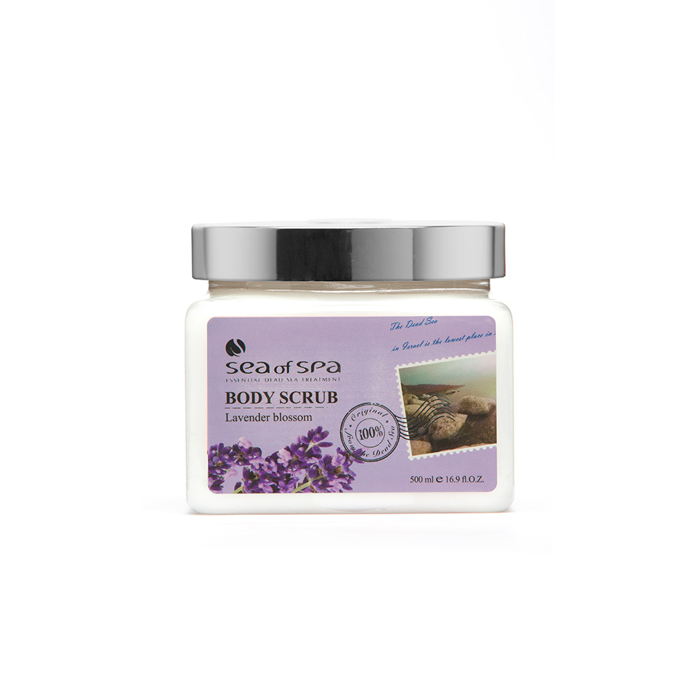 Dead-Sea Sea of Spa Body Scrub Lavender Blossom