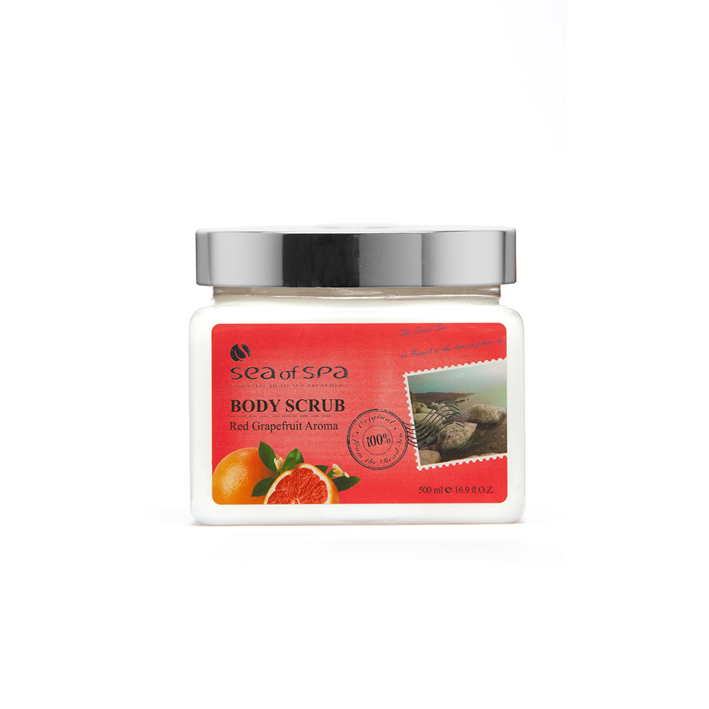 Dead-Sea Sea of Spa Body Scrub Red Grapefruit Aroma
