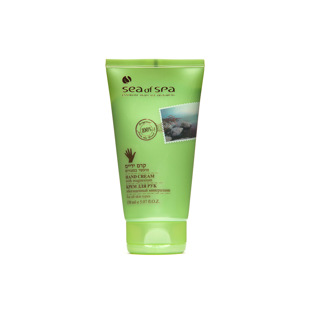 Dead-Sea Sea of Spa Hand Cream with Magnecium by Sea of Spa