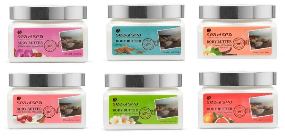Sea of Spa Body Butter category
