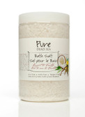 Pure Dead-Sea Vanilla Coconut Bath Salt