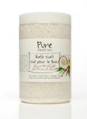 Pure Dead-Sea Vanilla Coconut Bath Salt