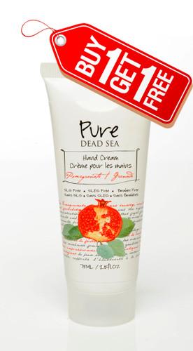 Dead Sea Pomegranate Hand Cream - Buy 1 Get 1 Free