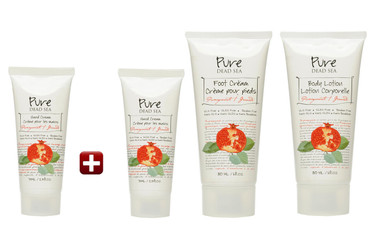 Pomegranate Free Cream Kit brought you by Pure Dead Sea