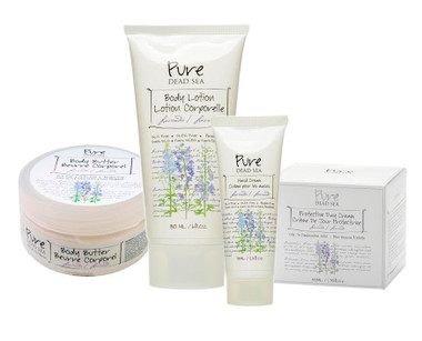 Pure Dead Sea Lavender Skin Care Products Kit takes care of your skin