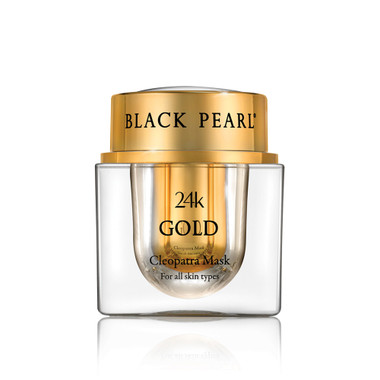 Treat your skin right with Dead-Sea Black Pearl 24k Gold Cleopatra Mask by SEA of SPA