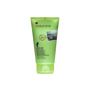Dead-Sea Sea of Spa Foot Cream with Magnesium by SEA of SPA is intended for dry, cracked skin and calloused feet. The Sea of Spa Foot Cream has a softening, smoothing and regenerating effect, it eliminates the sweating, normalizes metabolism, and prevents the development of the fungus.