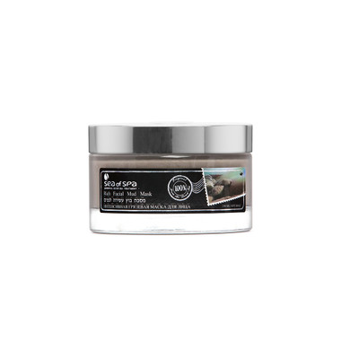 Dead-Sea Sea of Spa Rich Facial Mud Mask by SEA of SPA contains therapeutic mineral mud from the Dead-Sea, aloe gel, kaolin. The Sea of Spa Rich Facial Mud Mask is enriched with vitamins A and E, known as powerful antioxidants.
