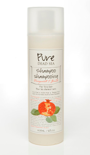 Pure Dead-Sea Pomegranate Shampoo for dry hair