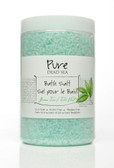 Pure Dead-Sea Green-Tea Bath Salt