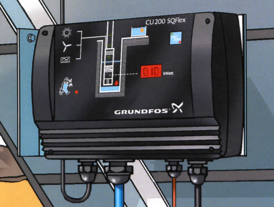 Grundfos Cu 200 Control Box With On Off Switch Power Consumption Larger More Photos