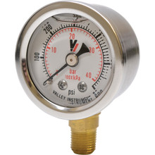 Glycerin Filled pressure gauge, 600 psi