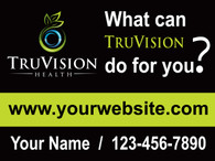 TruVision Green What Can? Yard Sign