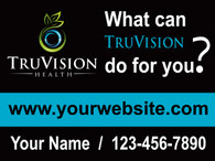 TruVision Blue What Can? Yard Sign