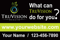 A Set of TruVision What if Green Car Magnets