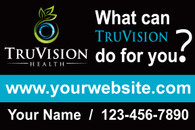 A Set of TruVision What if Blue Car Magnets