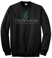 TruVision Rhinestone Bling Crew Neck Sweat Shirt