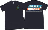 Blue and Orange T-shirt